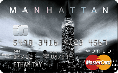 Standard Chartered MANHATTAN World MasterCard