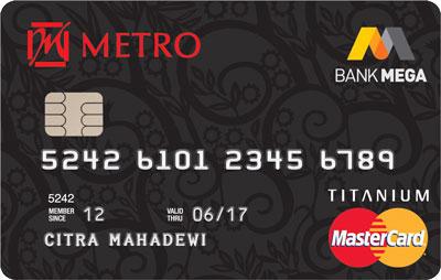 Metro Mega MasterCard