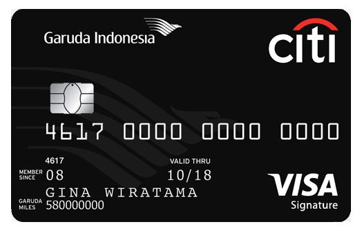 Garuda Indonesia Citi Card
