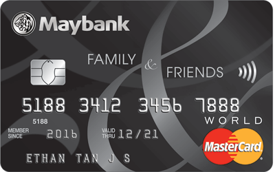 Maybank Family & Friends Card