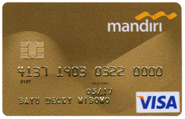 Mandiri Gold Card