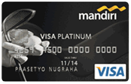Mandiri Golf Card Platinum