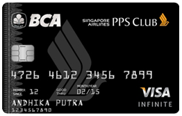 BCA Singapore Airlines PPS Club Visa Infinite