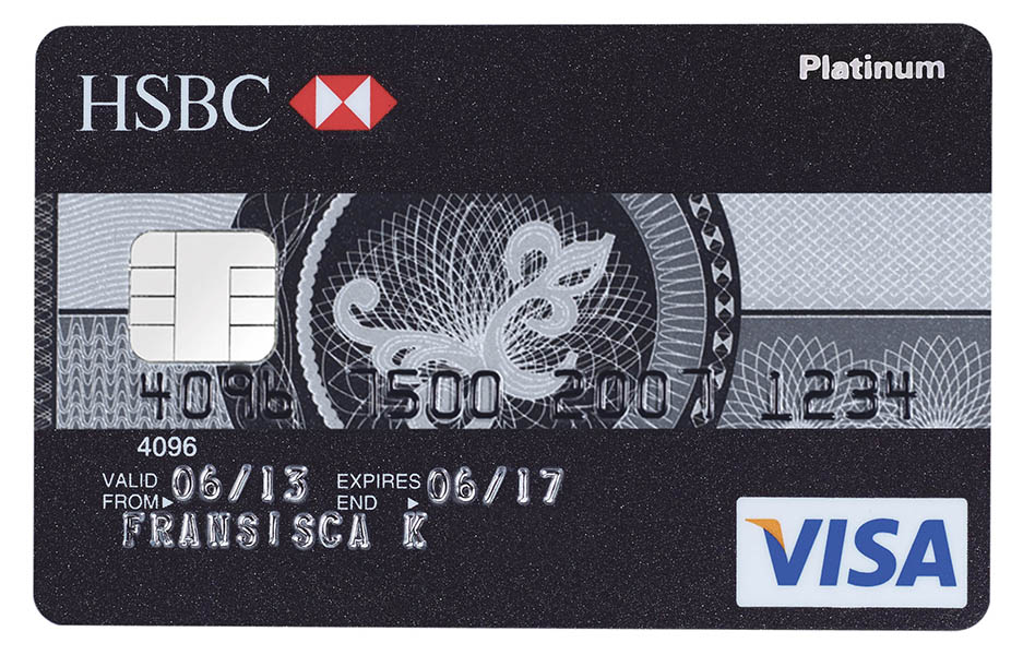 HSBC VISA Platinum Card