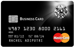 Bukopin Diamond Business Card