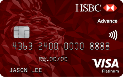 The best cashback credit cards in singapore 2018 moneysmart hsbc advance credit card reheart Gallery