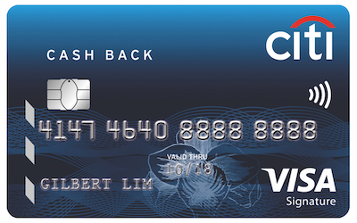 Image result for Citibank Cashback Card