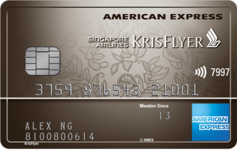 American Express Singapore Airlines KrisFlyer Ascend Credit Card