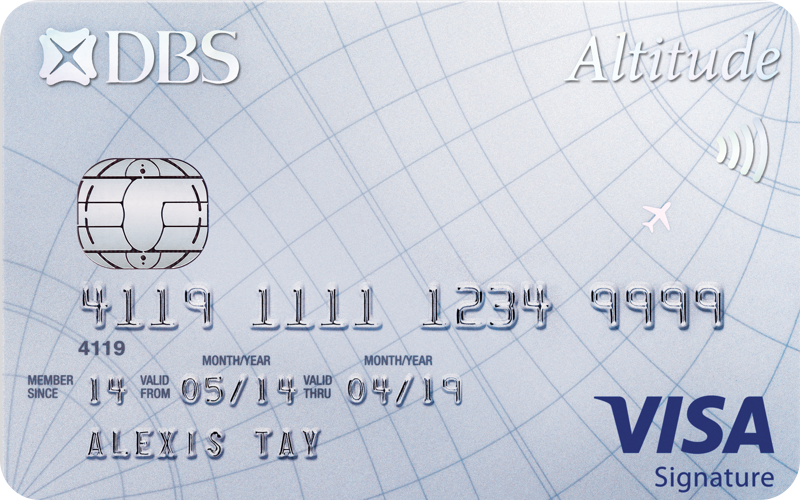 DBS Altitude Visa Signature Card