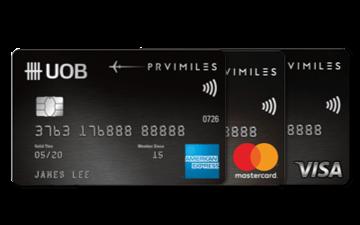 UOB PRVI Miles Card