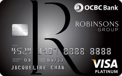 OCBC Robinsons Group Credit Card