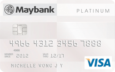 Maybank Platinum Visa Card